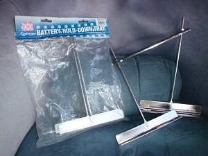 BATTERY HOLD DOWN BRACKETS MARINE STAINLESS STEEL